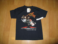 Official Nintendo Super Mario DS Boys T-Shirt Black X Small XS