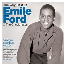 Emile Ford & The Checkmates - The Very Best Of (2CD 2016) NEW/SEALED