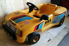 RARE voiture electrique 205 T16 TOYS TOYS no a pedales gti turbo 16 rally