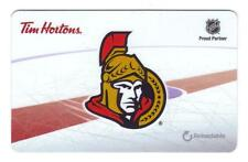 2016 Ottawa Senators Tim Hortons Tim Card Gift Card new Mint !