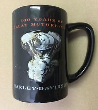 "Harley Davidson 100th Anniversary 'Granite"" Mug New With Gift Box"