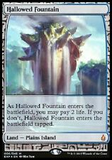 Fontaine Sacrée PREMIUM / FOIL Hallowed Fountain  Zendikar Expeditions Magic Mtg