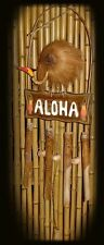 """""""ALOHA"""" WIND CHIME - 40"""" BAMBOO - TROPICAL RELAXATION"""