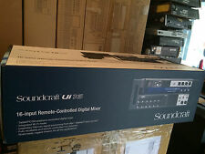 Soundcraft Ui16 16-input Remote-controlled Digital Mixer with Wi-Fi, //ARMENS