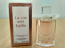 Lancome La Vie Est Belle Florale EDT 3 ml for Women MINI MINIATURE PERFUME NEW