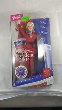 Mattel 2004 Barbie for President G6175 NRFB