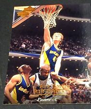 RIK SMITS 1995-96 Upper Deck ERROR Double Name Logo SCARCE #18 Pacers 1/1?