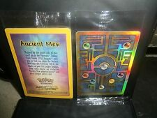 Pokemon BLACK STAR PROMO-ANCIENT MEW HOLOFOIL!  SEALED ! NEW