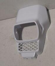 Verkleidung Scheinwerfer Lampe Honda MTX 80 50  Lampenverkleidung eckig Weiß