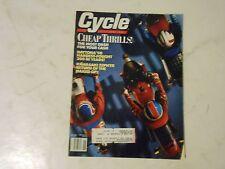 JUNE 1990 CYCLE MAGAZINE,DAYTONA 1990,KAWASAKI ZEPHYR,YAMAHA XT600S,SUZUKI GS100
