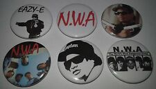 6 Eazy E NWA pin badges Straight Outta Compton Ice Cube MC Ren Dr Dre