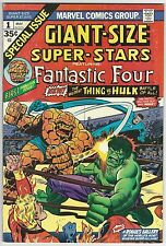 GIANT-SIZE SUPER-STAR #1 GRADE 8.5 VF+ WHITE PAGES (ID 3395)