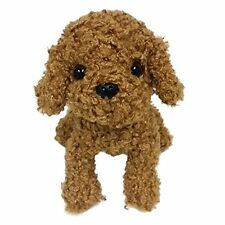 Premium Puppy Toy Poodle Red M Stuffed Animal Plush Gift Baby Birthday 9'' New