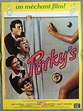 Affiche PORKY'S Bob Clark DAN MONAHAN Mark Herrier 40x60cm *