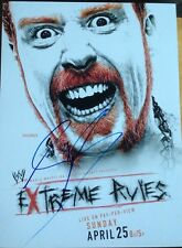 Wwe Sheamus Signed Poster 12x16 Extreme Rules Photo Promo Proof Raw Nxt