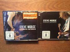 Steve Morse [3 CD + 2 DVD] Live in New York + Live in Connecticut / NEU OVP