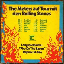 "7"" Meters – Fire On The Bayou / ° Meters auf Tour mit Rolling Stones °// Germany"