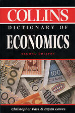 Collins Dictionary of - Economics, Dr. Christopher Pass, Dr. Bryan Lowes