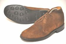 Loake mens Brown suede Chukka boots shoes size 8,real UK 7.5F/US 8.5D/EU41.5