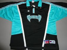 VTG Champion Brand Vancouver Grizzlies AUTHENTIC NBA Warmup Shooting Jersey 52