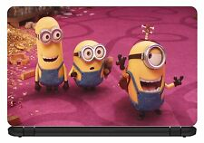 15.6 inch Minions-Laptop Vinyl Skin/Decal/Sticker/Cover -Somestuff247-LC023