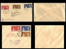 British Colonies 1937 Coronation Stamp Collection of 29 Covers