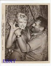 Man chokes Marion Michael VINTAGE Photo Liane Jungle Goddess