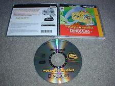 The Magic School Bus Explores In The Age Of Dinosaurs PC CDROM for Windows 95/NT