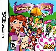Wedding Dash DS Game  Brand New - Fast Ship - In Stock
