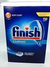 Finish Powerball Dishwasher 110 Tablets Pack Classic  Clean Dishes