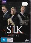 Silk - Series 1 & 2 - DVD (ABC Region 4 4xDVD Brand New Sealed)