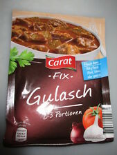 9 bags x Carat Fix - Gulasch Sauce fresh from Germany New