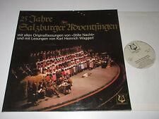 LP/25 JAHRE SALZBURGER ADVENTSINGEN/HEINRICH WAGGERL/Christophorus 73765 / VG