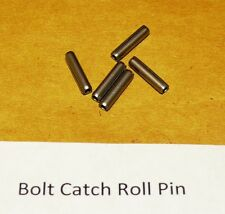 12 BOLT CATCH PREMIUM HARDENED SS COILED ROLL PINS, made in USA  FREE SHIPPNG