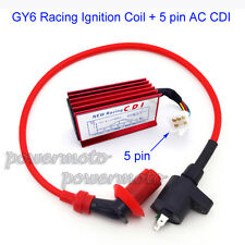 AC CDI Racing Ignition Coil For Honda XR CRF 50 Dirt Pit Bike 110cc 125cc Engine