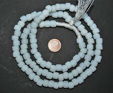 Strand old Venetian Murano antipue opal white trade beads