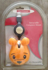 Fun Friends Animal  Retractable Computer Mouse