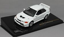IXO Mitsubishi Lancer Evo VI Evolution 6 in Whte MOC146 1/43NEW