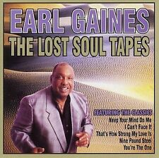 FREE US SH (int'l sh=$0-$3) ~LikeNew CD Earl Gaines: Lost Soul Tapes