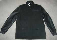 NIKE M 65 SPORTSWEAR NSW MENS M LEATHER WOOL DESTROYER SAMPLE JACKET COAT $600