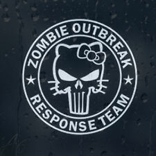 Zombie Outbreak Response Team Hello Kitty Car Phone Laptop Decal Vinyl Sticker