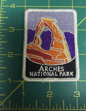 New Traveler Series Patch - Arches National Park - Utah - Embroidered Patch