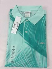 Lacoste Men's Polo Shirt SLIM FIT NWT Moorea Thalassa Blue Green Size EU 6 US L