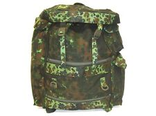 Belgian surplus air force army flecktarn camouflage large backpack rucksack