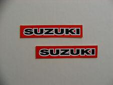 Suzuki moto autocollants boîte à outils moto mécanique frigo retro bike decals