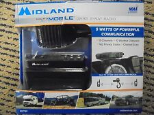 Midland MicroMobile GMRS 2-Way Radio 15 chan MXT90 BRAND NEW