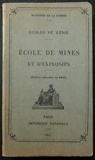 Ecole de mines et d'explosifs / 1940
