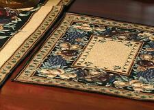 Set of 4 OLD WORLD ITALY Woven Tapestry Placemats, by Manual Weavers