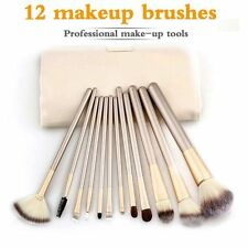 12 Pcs Professional Makeup Brushes Set Cosmetics Foundation Powder Brush Kit