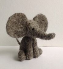 Grey Elephant needle felting kit